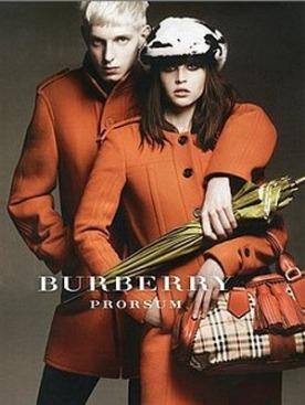Рекламная кампания Burberry осень-зима 2011