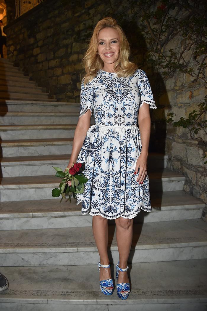 Кайли Миноуг в Италии: фото