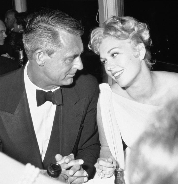 Кэри Грант и Ким Новак, 1959
