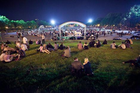 Парк Горького открывает летний сезон   галерея [1] фото [5]
