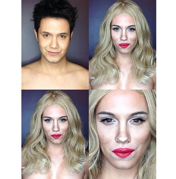 Филиппинский визажист перевоплотился в звезд с помощью макияжа | галерея [1] фото [9]