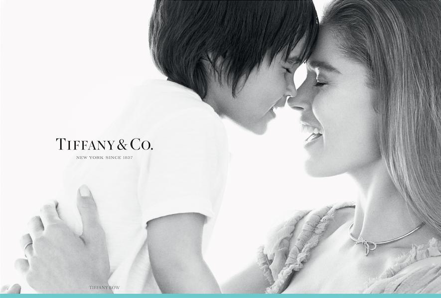 Даутцен Крез с сыном Филлоном для Tiffany & Co.