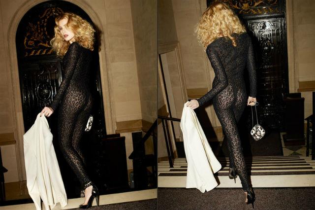 Модная одежда 2014: кружевной комбинезон