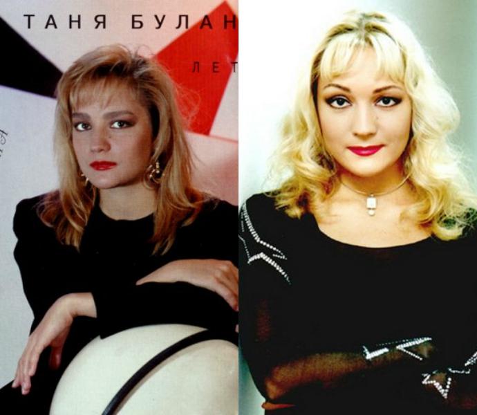 Таня Буланова в молодости