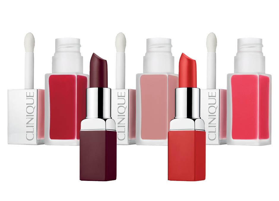 Матовая помада для губ Pop Matte Lip Color + Primer и матовый лак для губ Pop Liquid Matte Lip Colour + Primer от Clinique