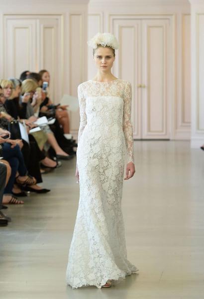 Дом Oscar de la Renta представил новую свадебную коллекцию | галерея [1] фото [1]