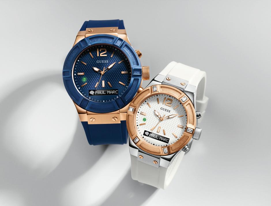 Guess презентовал новые умные часы Guess Connect