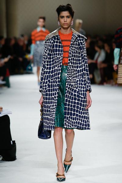 Неделя моды в Париже: показ Miu Miu pret-a-porter осень-зима 2015/16 | галерея [1] фото [32]