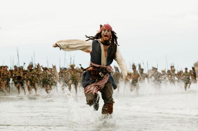 №8 «Пираты Карибского моря: Сундук мертвеца»