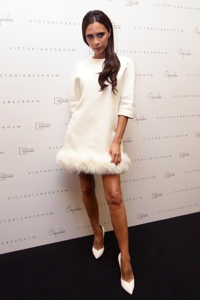 Платье из коллекции Victoria Beckham
