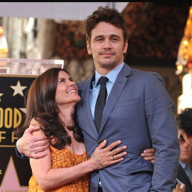 Джеймс Франко с мамой: фото