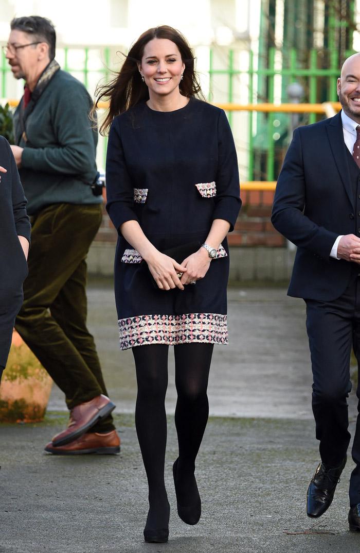 Беременная герцогиня Кембриджская