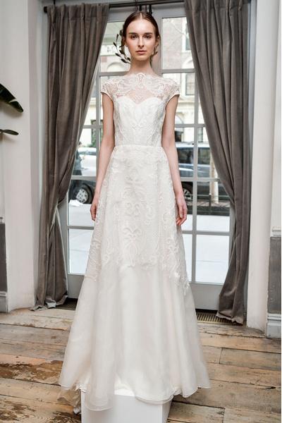 50 самых красивых платьев со Свадебной Недели Моды в Нью-Йорке | галерея [1] фото [31]