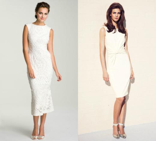 Свадебные платья миди от Next и JS Collections
