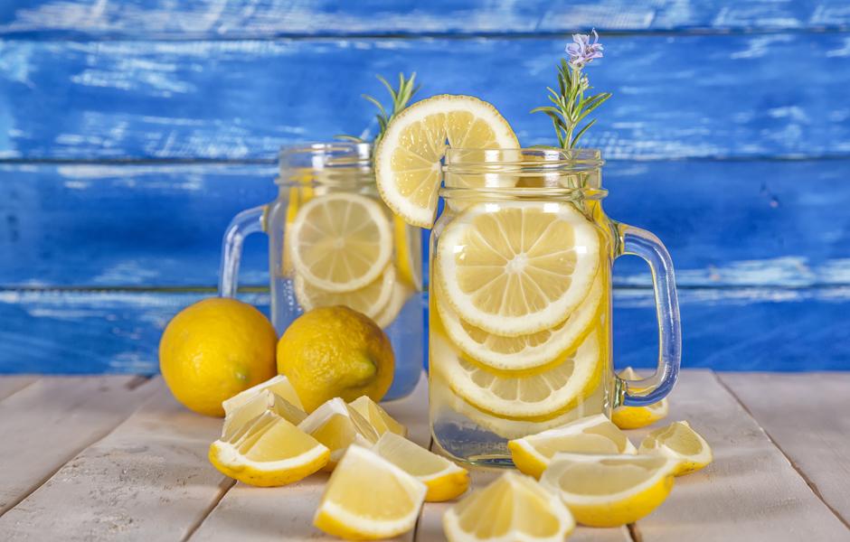 1. Лимонад натощак