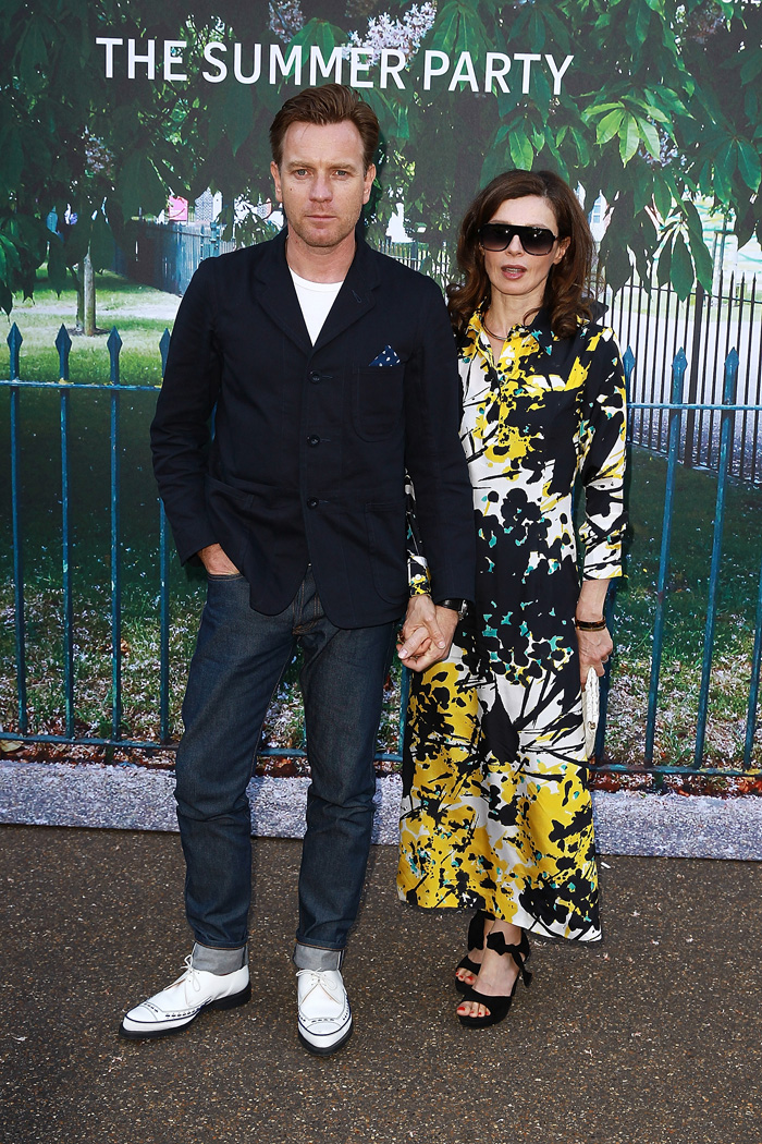 Юэн Макгрэгор с женой: фото 2015