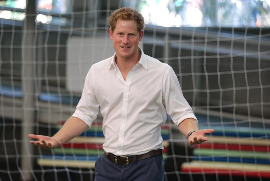 Принц Гарри поддержал английскую сборную в Бразилии