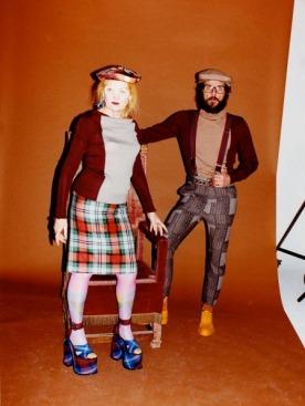Vivienne Westwood для Woolmark