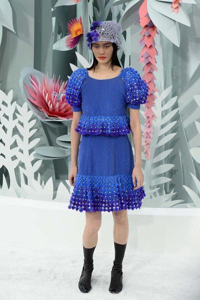 Показ Chanel Haute Couture | галерея [1] фото [9]