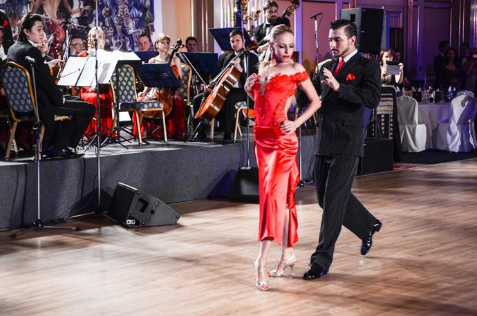 первый «Танго Бал» в Москве