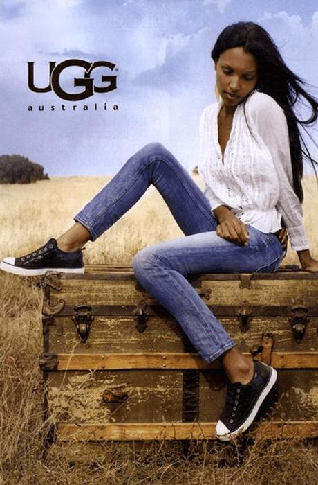 Рекламная кампания ugg