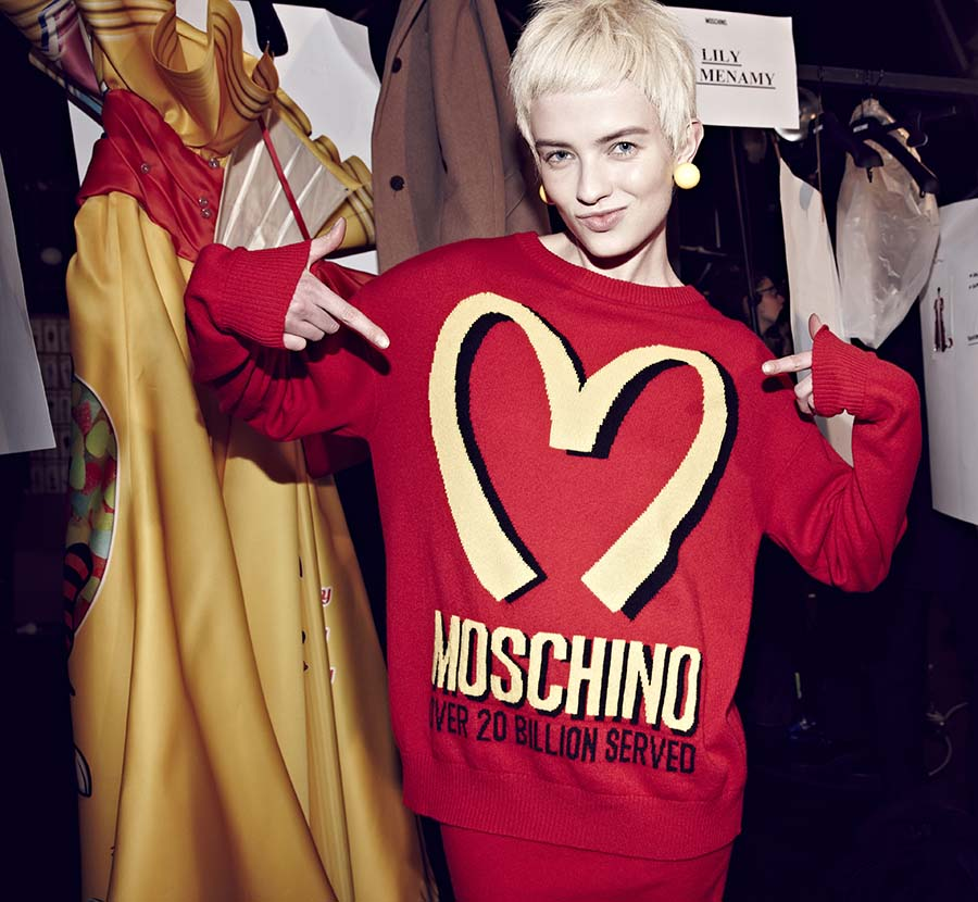 Прямая трансляция показа Moschino на Неделе моды в Милане