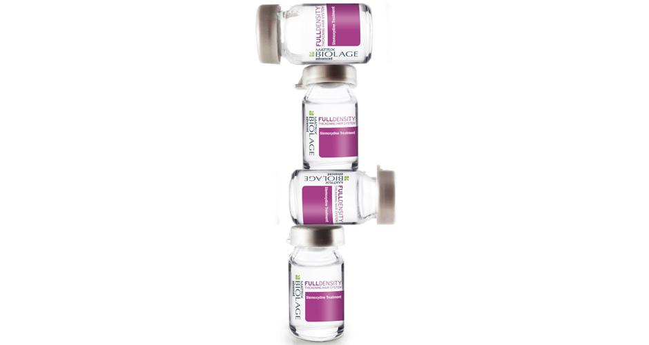 Глубокий уход со стемоксидином Biolage Full Density