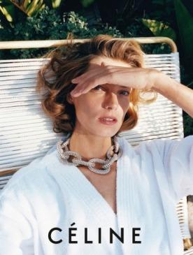 Дарья Вербова в рекламе Celine