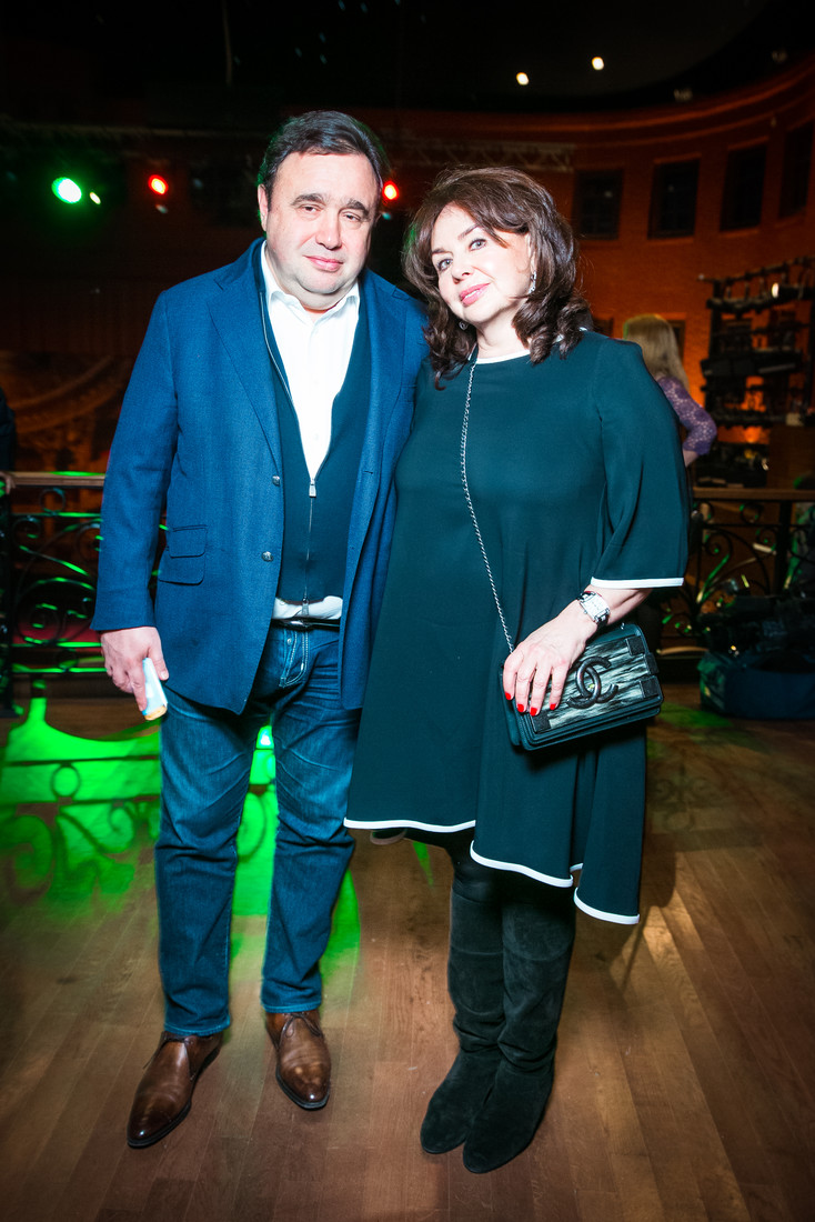 Александр Раппопорт с супругой