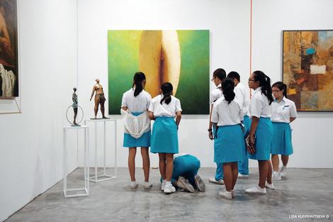 Галерея VS Unio на выставке Art Stage Singapore 2016 | галерея [1] фото [6]