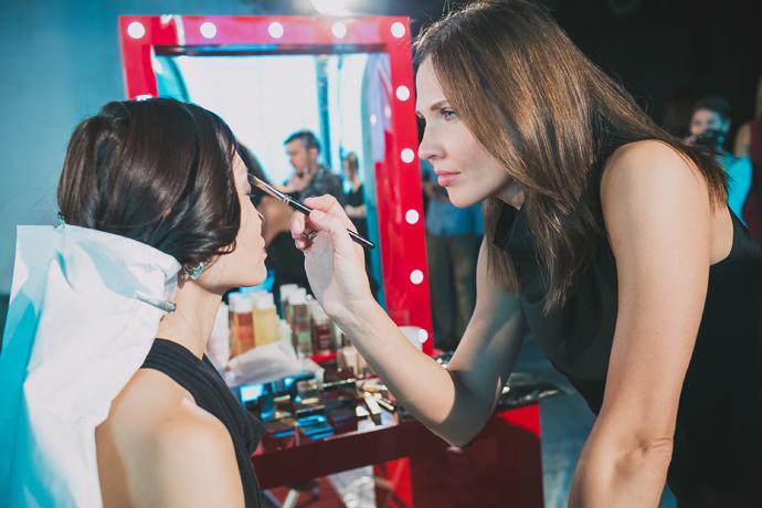Как повторить макияж с показа Сhapurin осень-зима 2014-2015