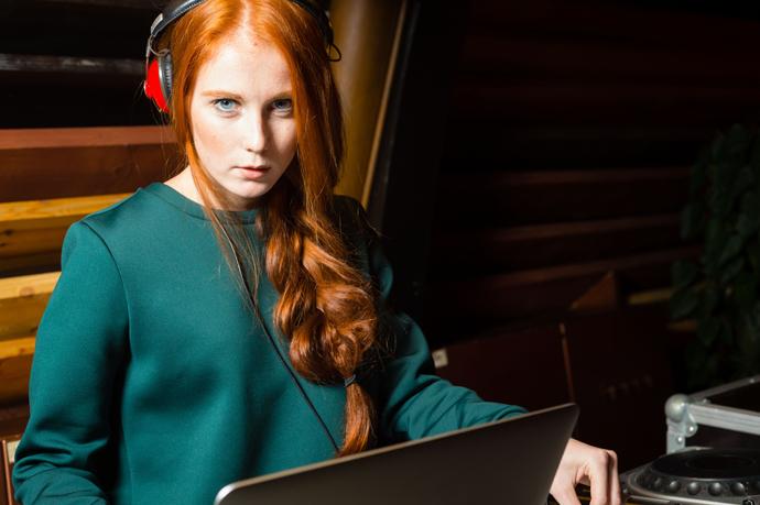 DJ Александра Федорова