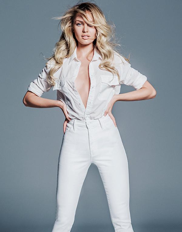 С чистого листа: как носить белые джинсы в этом сезоне