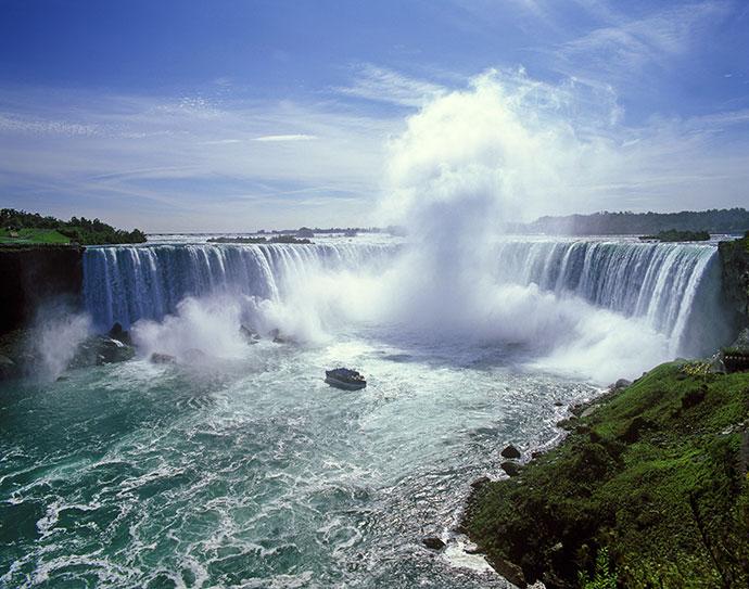 Ниагарский водопад в Онтарио, Канада