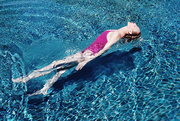 упражнения в воде