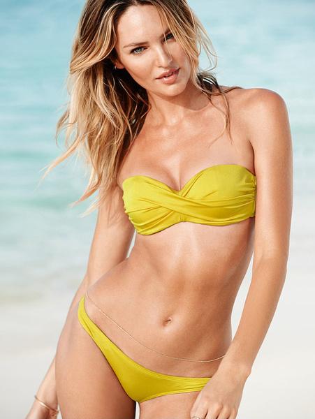 Кэндис Свейнпол снова стала лицом каталога Victoria's Secret