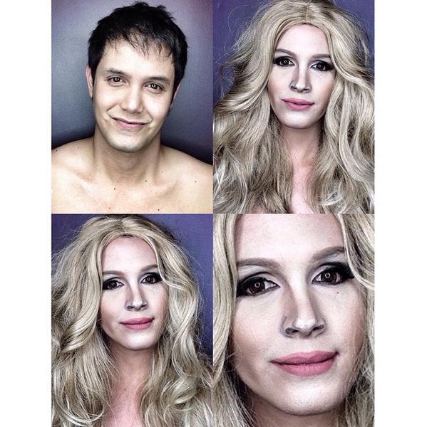Филиппинский визажист перевоплотился в звезд с помощью макияжа | галерея [1] фото [4]