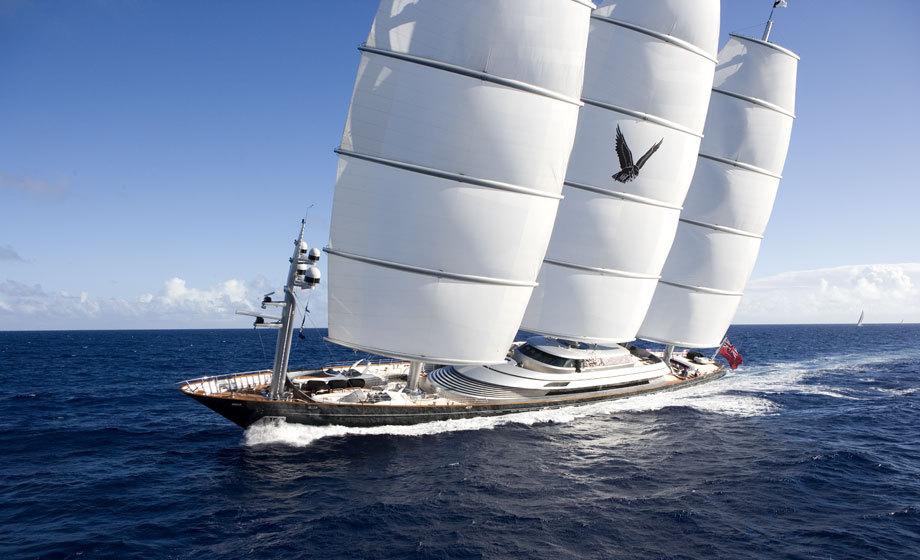Яхта Maltese Falcon