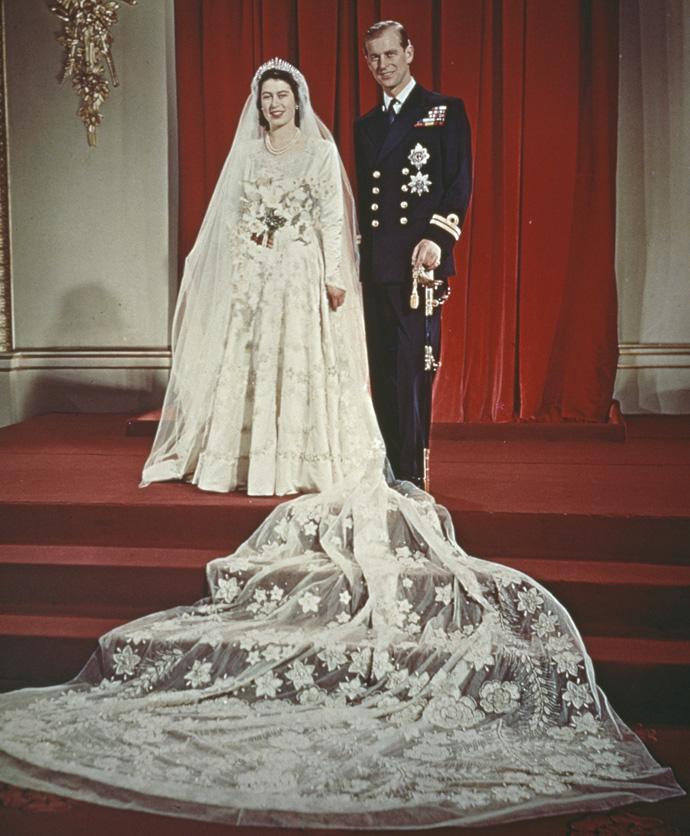 Свадьба Елизаветы и принца Филиппа