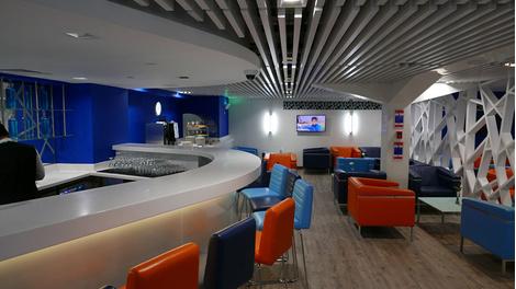 Flydubai представил новый бизнес-лаунж | галерея [1] фото [1]