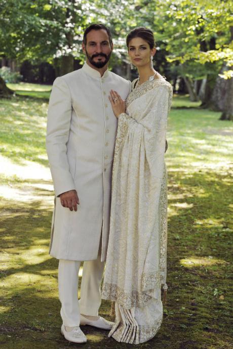 Принцесса Сальва Ага-хан и принц Рахим Ага-хан