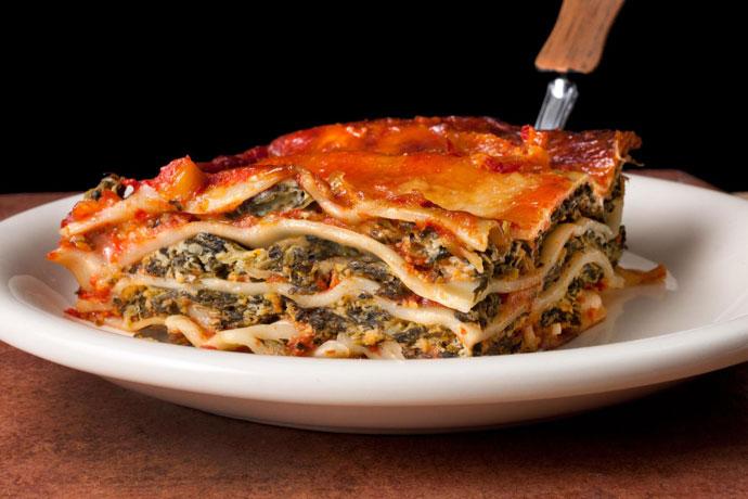 Лазанья со шпинатом 1
