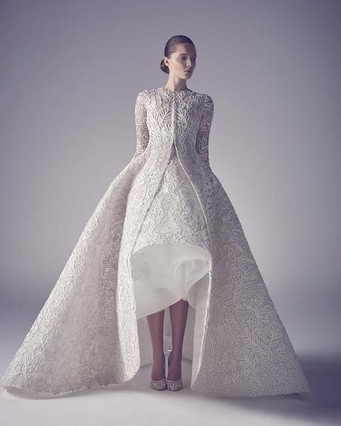 ЗАМУЖ НЕВТЕРПЕЖ: 10 самых красивых свадебных коллекций сезона | галерея [1] фото [16]