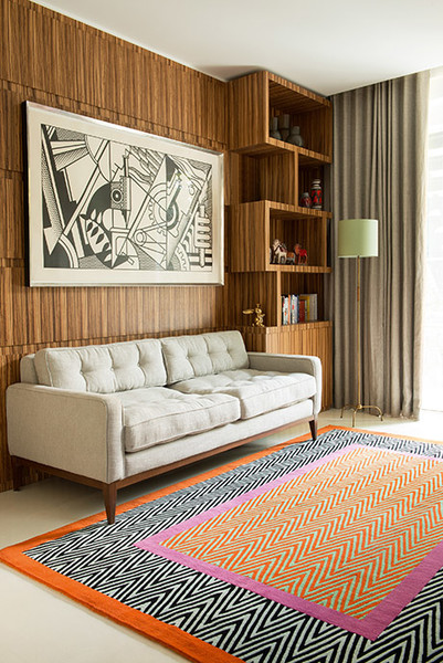 Новая коллекция: ковры от Jonathan Saunders для The Rug Company | галерея [1] фото [3]