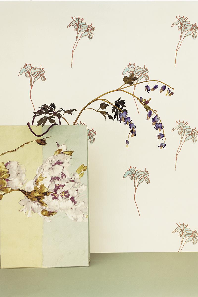 Обои Pontalba, Designers Guild обои с цветочным рисунком ткани с цветочным рисунком