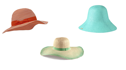 """Фото пляжной моды 2013: Шляпы Marella, H&M, Borsalino (ТЦ """"Весна"""")"""