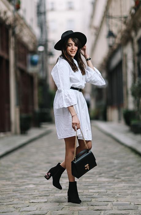 4. Платье-рубашка
