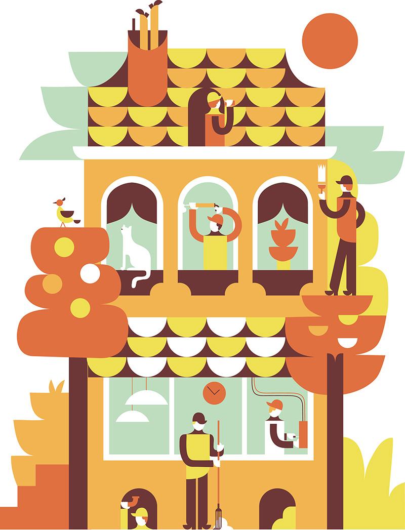 Как подготовить загородный дом к зиме: 20 советов
