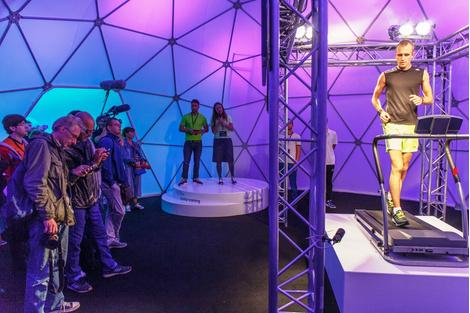 В Москве прошла выставка adidas climalabВ Москве прошла выставка adidas climalab