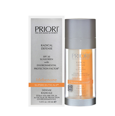 Антивозрастной лосьон для лица Priori, Radical Defense Idebenone Superceuticals SPF 30 / EPF 95+